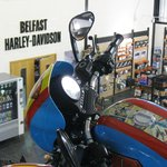 Harley Davidson showroom
