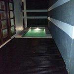 The pool in the Villa