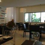 Restaurant at Novotel Santos Dumont
