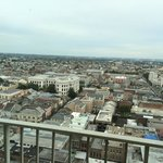 French Quarter viewed from 23d floor