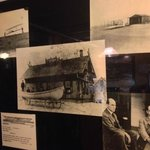 Historic photos document the restaurant's Wright Brothers connection.