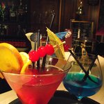 Cocktails in Logie's Bar