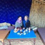 Breakfast in the oasis