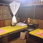 comfy twin room in the longhouse