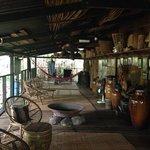 veranda at the longhouse