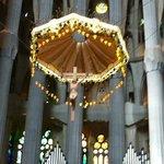 Interior of Sagrada Famillia