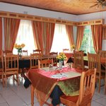 El Palmar Guesthouse Dining area