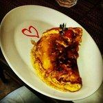 Lovely omlette