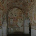 Zona da antiga villa romana adaptada a igreja nas Idades Média e Moderna