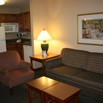 Two Bedroom Suite- Living Room and Kitchenette
