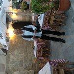 Our waiter christos