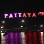 looking from our balcony across Pattaya