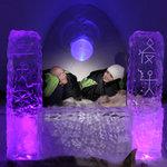Luvattumaa-Levi Ice Gallery