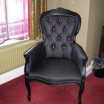 Grim looking chair