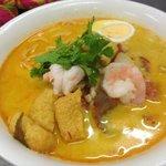 Curry Laksa Noodle Soup