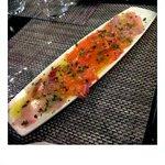 Seefood carpaccio