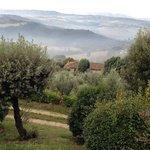 Foggy morning in Todi