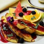 Blackberry Sage French Toast