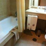 Banheiro limpo