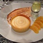 Biscuit breton, crème au citron, Limoncello maison : orgasmique !