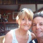 sur la jolie terrasse du Petit Nice