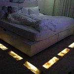 Floor lit Onyx