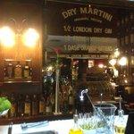 Dry martini pretty strong