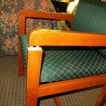 Nice furniture!  Everything was broken