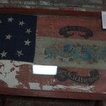 Miss Regt. Battle Flag in museum