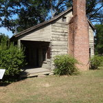 Old Scotia log cabin dovetail logs