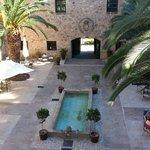 Inner Courtyard Parador Jarandilla de la Vera