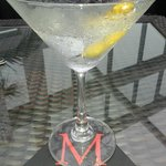 Very dry martini at Marini's - shaken, not stirred!
