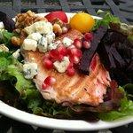 Smoked Salmon Summer Salad