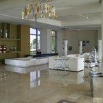 hotel reception ,lounge & bar area