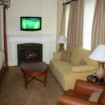 Jr. Suite living room area