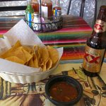 Chips, Salsa, and a Cold Beer