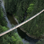 Capilano Suspension Bridge attraction in North Vancouver