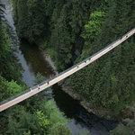 Capilano Suspension Bridge attraction in North Vancouver