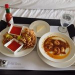 room service food was awesome :)
