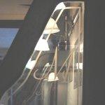 Glass dividers @ Metropole Bar