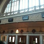 Former Station Lobby, which is now the hotel lobby