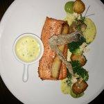 sea trout main dish
