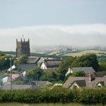 Sea fog rolling into Marhamchurch