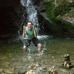 Refreshingly cool on a hot day at St. Nectan's Glen