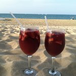 Two for one Sangria Happy Hour!