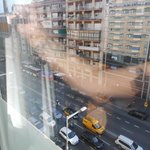 6th floor hotel room frount building