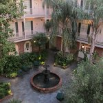 Our room faced this gorgeous courtyard.