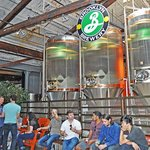 Brooklyn Brewery on the Taste of Williamsburg tour.
