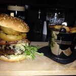 Bar burger £6.95!! Excellent quality.
