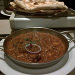 Excellent tandoori chicken Balti